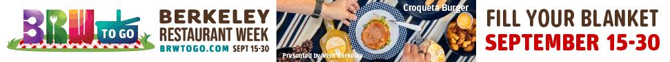 Berkeley Restaurant Week To Go Banner