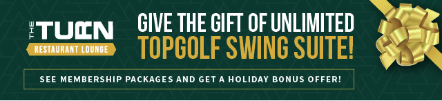 Give the Gift of Unlimited Topgolf Swing Suite at The Turn Green Bay
