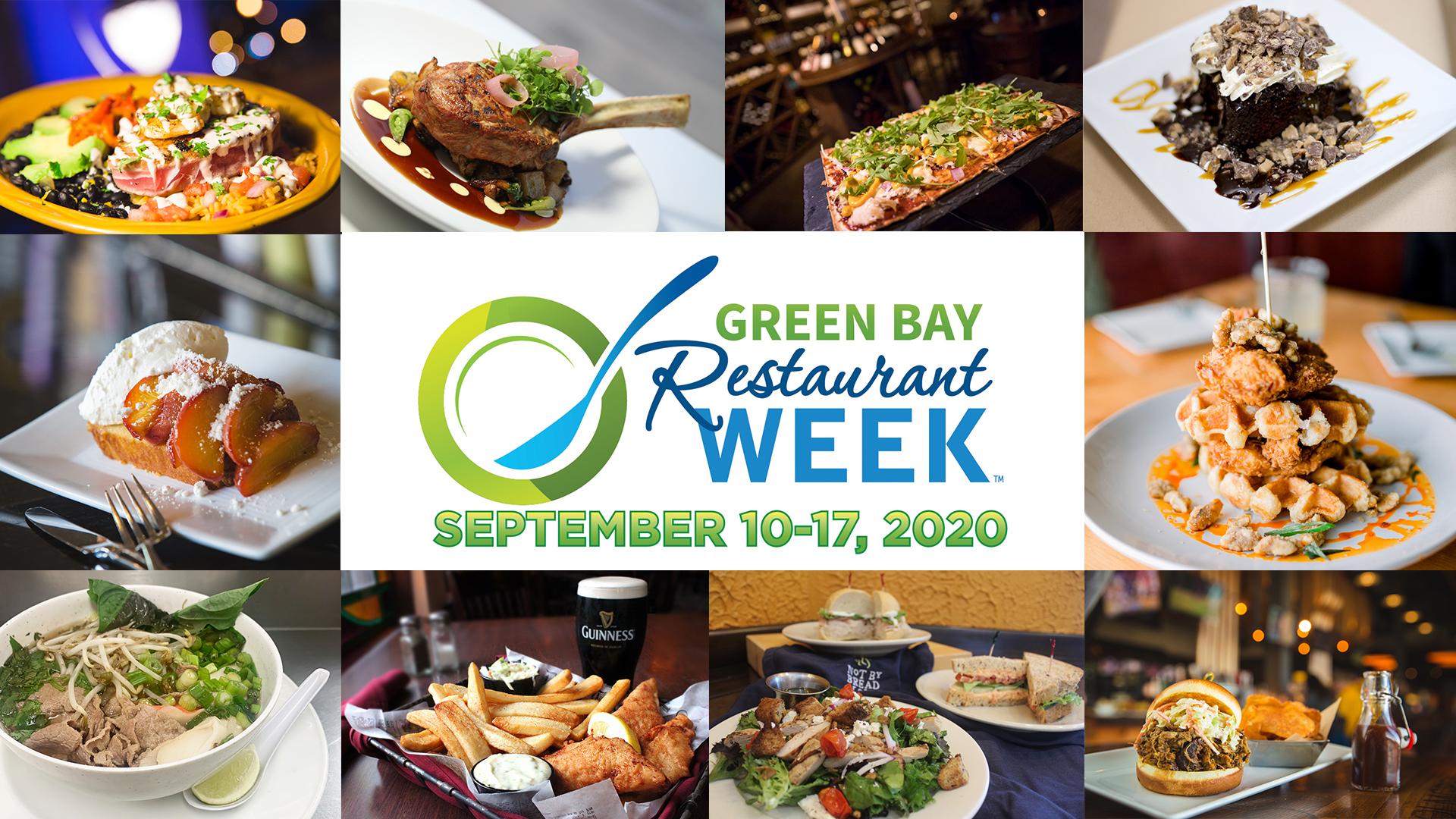 Green Bay Restaurant Week Returns September 10-17, 2020