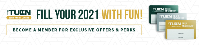 Fill your 2021 with fun and become a member at The Turn Green Bay