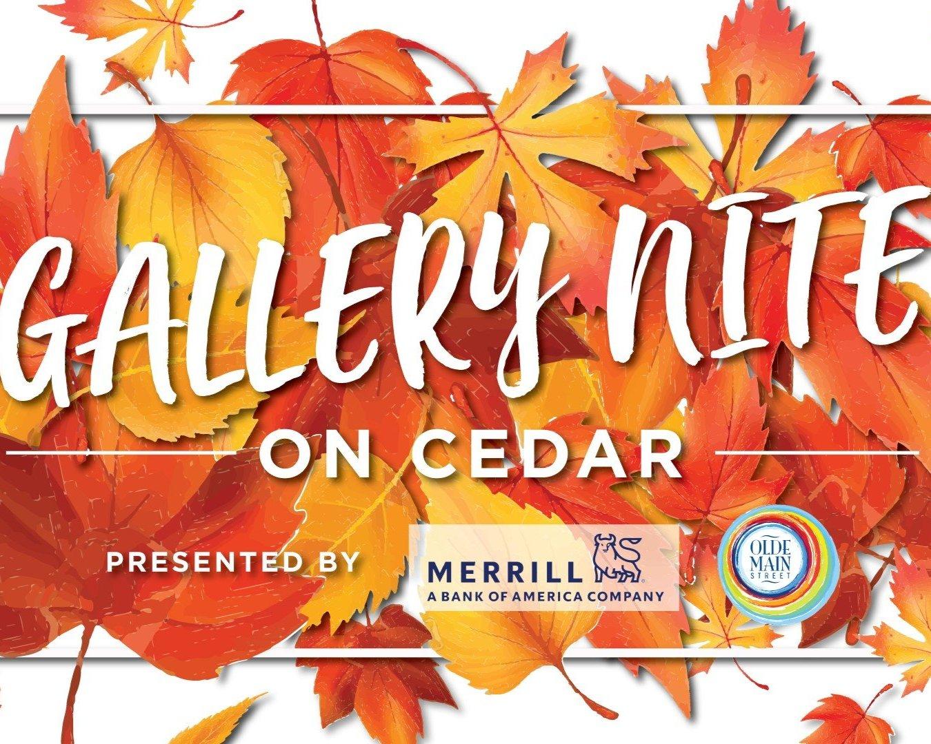 Gallery Nite on Cedar - Art event