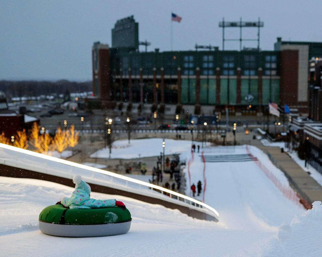 Get outside and enjoy winter in Green Bay