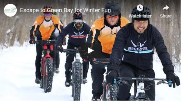 Escape to Green Bay for winter fun